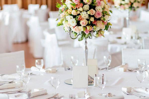 Charlotte Speculo Floral Designer Table Centrepiece