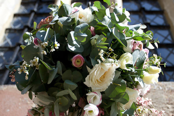 Hanging Wedding Basket