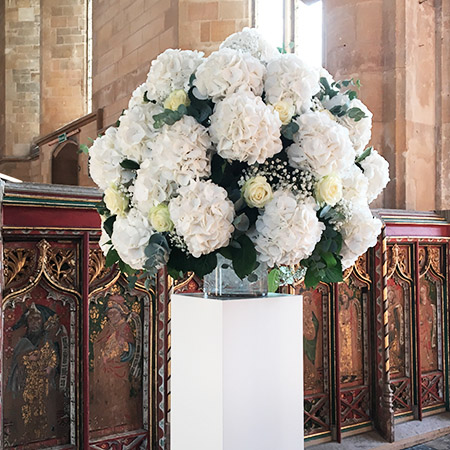 Pedestal Flowers Essex