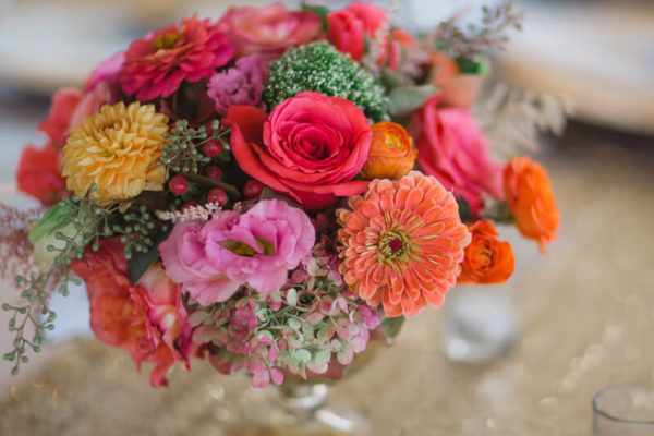 Table Flower Arrangement - Floral Designer Essex