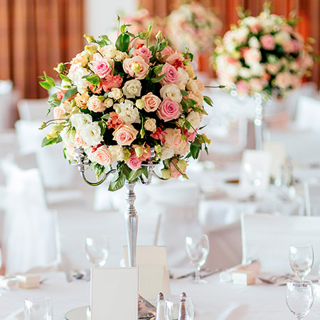 Wedding Table Centrepieces Essex
